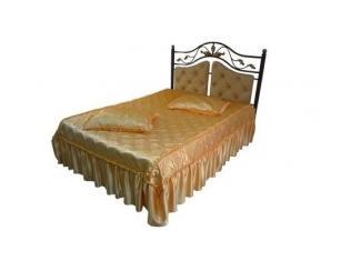 Кровать двойная металлическая Виола - Мебельная фабрика «Металл конструкция»
