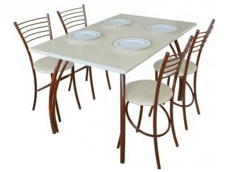 Стол Элегант белый - Мебельная фабрика «Амис мебель»
