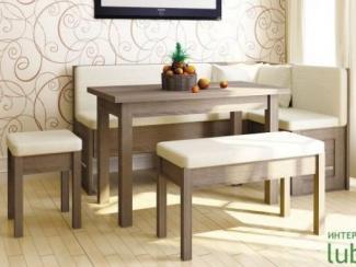 кухонный уголок Сити Сонома темная - Мебельная фабрика «Любимый дом (Алмаз)»