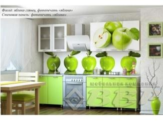 Кухня с фотопечатью Яблоко - Мебельная фабрика «ВВР»