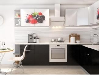 Кухня Премьера с фотопечатью угловая - Мебельная фабрика «Горизонт»