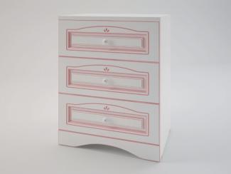 Ромео Тумба прикроватная с 3 ящиками RM-10 - Мебельная фабрика «SENATOR KIDS»