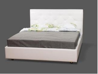 Кровать Джардин 2-спальная экокожа - Мебельная фабрика «МВК»