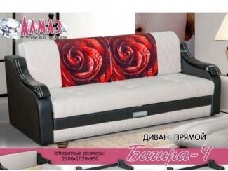 Прямой диван Багира 4 - Мебельная фабрика «Алмаз»