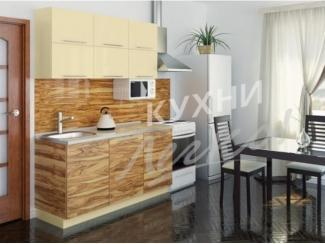 Небольшая светлая кухня  - Мебельная фабрика «СтолБери», г. Санкт-Петербург