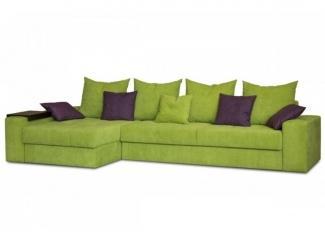 Зеленый угловой диван Флай Плюс  - Мебельная фабрика «Могилёвмебель», г. - не указан -