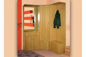 Прихожая угловая мебель HMK 04.11 - Мебельная фабрика «МДН» г. Санкт-Петербург