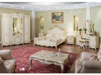 Спальня Мона Лиза крем - Мебельная фабрика «Эра»