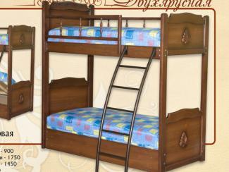 кровать «Двухъярусная» Мд-3тхб