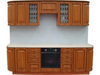 Кухонный гарнитур прямой Ольха 3 - Мебельная фабрика «Петербургская мебельная компания (ПМК)»
