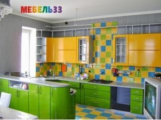 Яркая угловая кухня - Изготовление мебели на заказ «Мебель 33»