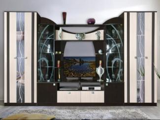 Гостиная стенка Мадрид 4 - Мебельная фабрика «Мебель Маркет»