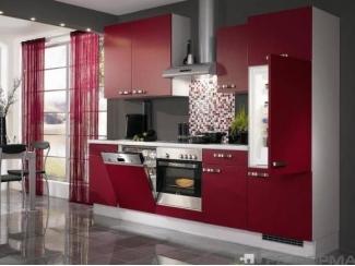 Прямая кухня Модерн 010 - Изготовление мебели на заказ «Ре-Форма»