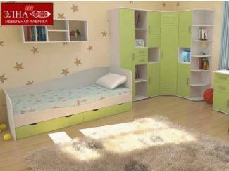 Детская Индиго вариант 7 - Мебельная фабрика «Элна»