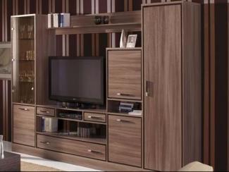 Гостиная стенка Софи Ясень Шимо - Мебельная фабрика «Уфамебель»