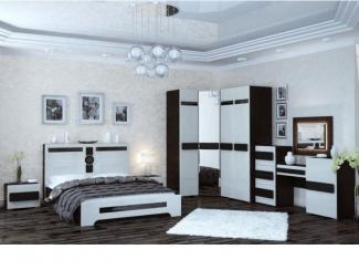Уютная спальня с угловым шкафом 1 - Мебельная фабрика «Мэри-Мебель»