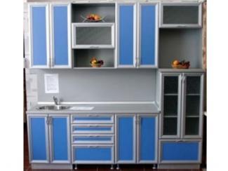 Кухонный гарнитур Голубой Балтик - Мебельная фабрика «Московский мебельный альянс»