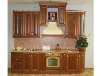 кухня прямая Анастасия Бергонци массив