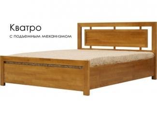 Кровать с подъемным механизмом Кватро - Мебельная фабрика «Массив»