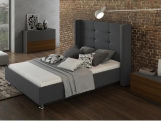 Кровать Лозанна 2 Графит - Мебельная фабрика «Артис»