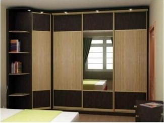 Угловой шкаф-купе в спальню - Мебельная фабрика «Kuhnishkaf»