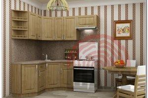 Угловая мини кухня Кай-Оксфорд - Мебельная фабрика «ВМК-Шале»