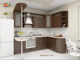 Кухня угловая «Дина» - Мебельная фабрика «Альбина»