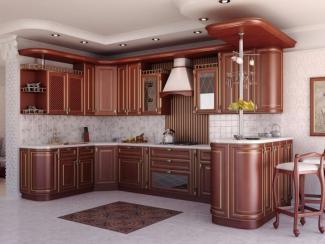 Кухня угловая Аланна патина - Мебельная фабрика «Вариант М»