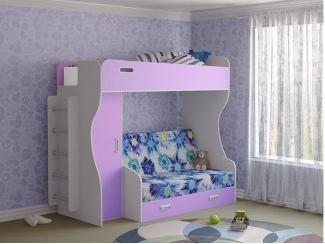 Кровать-чердак Элиза модель 2 - Мебельная фабрика «Лагуна»