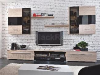 Гостиная стенка Соматик - Импортёр мебели «БРВ-Мебель (Black Red White)»