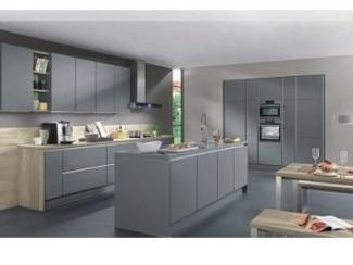 Кухня  Премиум корпус антрацит - Мебельная фабрика «Кухни Вардек»