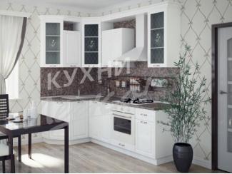 Белая угловая кухня  - Мебельная фабрика «СтолБери», г. Санкт-Петербург