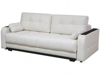 Белый прямой диван Монако