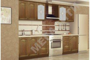 Кухня прямая Камилла - Мебельная фабрика «Мега Сити-Р»