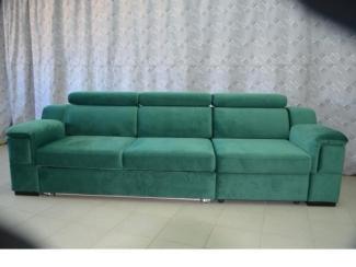Зеленый диван Висмут - Мебельная фабрика «Darna-a»