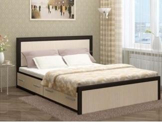 Кровать  Модерн с ящиками - Мебельная фабрика «КорпусМебель»
