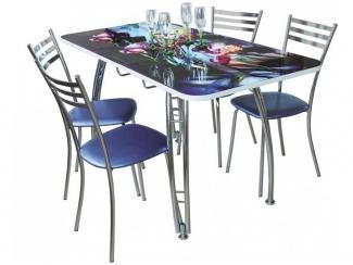 Стол раскладной Ирэн с фотопечатью - Мебельная фабрика «Амис мебель»