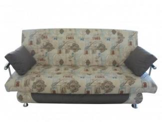 Диван Финка с металлическими подлокотниками  - Мебельная фабрика «Веста»