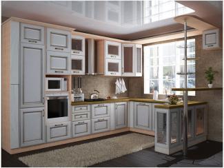 Кухня угловая Памелла патина - Мебельная фабрика «Вариант М»