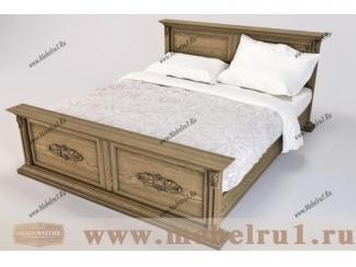 Кровать  Цезарь - Мебельная фабрика «Лидер Массив»