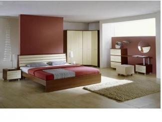 Спальный гарнитур с угловым шкафом  - Мебельная фабрика «Мастер Мебель-М»