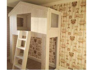 Детская кровать чердак Домик - Мебельная фабрика «Кадичи»