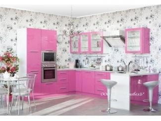 Новая розовая кухня Виола - Мебельная фабрика «А-Ника», г. Ульяновск
