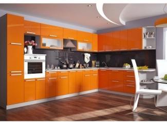 Оранжевая кухня Пелагея - Мебельная фабрика «Гермес»