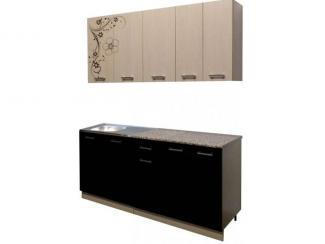 Кухня прямая Палитра 7 - Мебельная фабрика «Премиум»