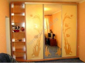 Шкаф-купе 3 створки с зеркалом  - Изготовление мебели на заказ «Игал»
