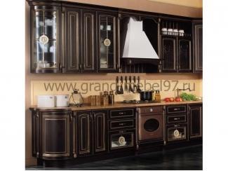 Кухня патина 09 - Мебельная фабрика «Гранд Мебель»