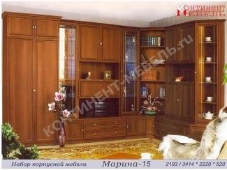 Угловая стенка Марина 15 - Мебельная фабрика «Континент-мебель»