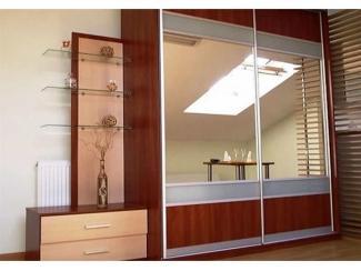 Шкаф-купе в прихожую с зеркалами  - Мебельная фабрика «Тритон»