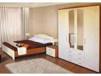 Спальный гарнитур 1 с двуспальной кроватью - Мебельная фабрика «GradeMebel»